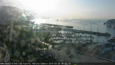 Preview webcam image Funchal - port