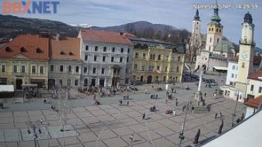 Preview webcam image Banská Bystrica