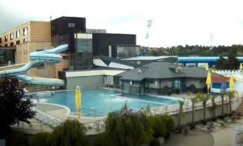 Preview webcam image Aquacity Poprad