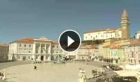 Preview webcam image Piran - Tartini Square