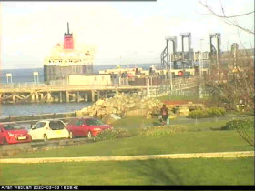 Preview webcam image Brodick