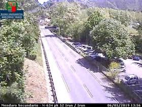 Preview webcam image Azpilgoeta - N-634