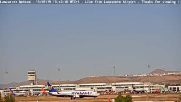 Preview webcam image Arrecife - airport Cesar Manrique