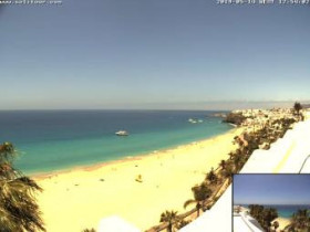 Preview webcam image Morro Jable - beach Jandia