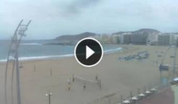 Preview webcam image Las Palmas - beach Grande