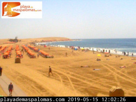 Preview webcam image Maspalomas - beach