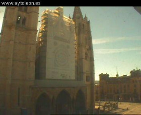 Preview webcam image León - Cathedral