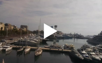 Preview webcam image Barcelona - port Vell