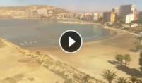 Preview webcam image Alicante - Playa de la Almadraba