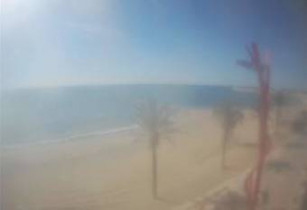 Preview webcam image Vinaros - Playa del Fortí