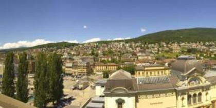 Preview webcam image Neuchâtel - Jeunes-Rives