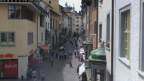Preview webcam image Schaffhausen - Vordergasse