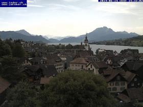 Preview webcam image Küssnacht am Rigi - Lucernské jezero