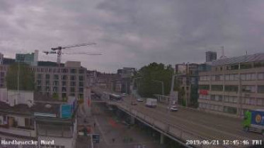 Preview webcam image Curych - Hardbrücke