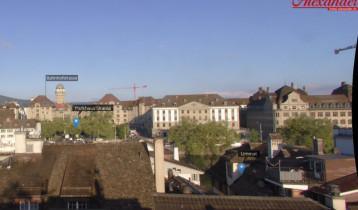 Náhledový obrázek webkamery Zurich - Hotel Alexander