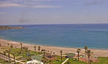 Preview webcam image Rodos Palladium Beach Live