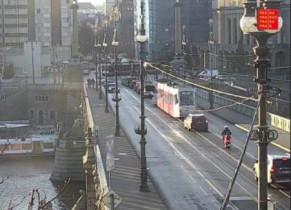 Preview webcam image Prague - Cech Bridge