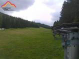 Náhledový obrázek webkamery Harrachov - ski resort - red slope