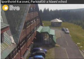 Preview webcam image Sporthotel Kurzovní pod Pradědem