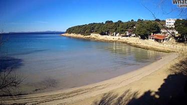 Preview webcam image Murter - beach