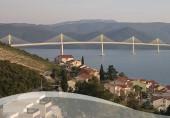 Preview webcam image Bridge to Peljesac