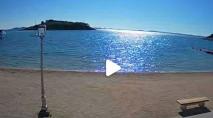 Preview webcam image Pakostane - beach
