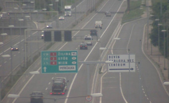 Preview webcam image Bratislava - exit Sitina Tunnel