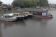 Preview webcam image Baťa's canal - Veselí nad Moravou harbor