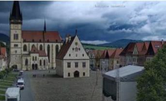 Preview webcam image Bardějov