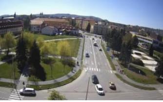 Preview webcam image Bardejov - Jiráskova street