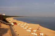Preview webcam image Międzyzdroje - pláž