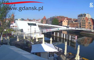 Preview webcam image Gdansk - Motlawa