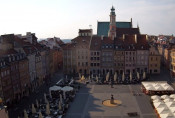 Preview webcam image Warsaw - Old Town Square