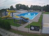 Preview webcam image Swimming pool Veseli nad Moravou