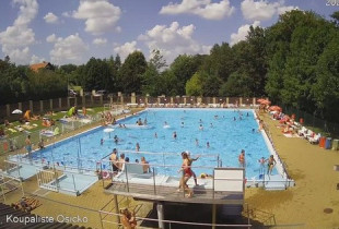 Preview webcam image Swimming pool Osíčko