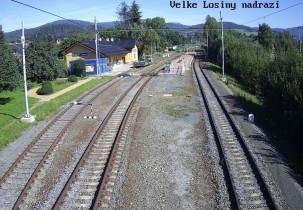 Preview webcam image Velké losiny - nádraží