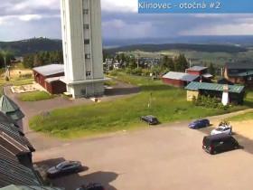 Preview webcam image Klinovec - looktower