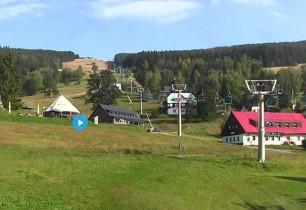 Preview webcam image Velká Úpa - skiresort Skiport