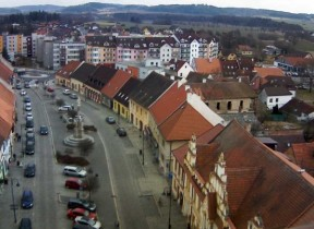 Preview webcam image Blatná - square Mír