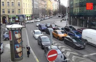 Preview webcam image Prague - Anglická - Škrétova