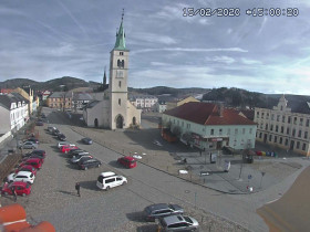 Preview webcam image Kašperské hory - square