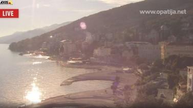 Preview webcam image Opatija - panorama