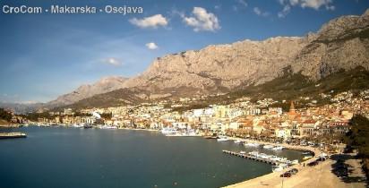 Preview webcam image Makarska