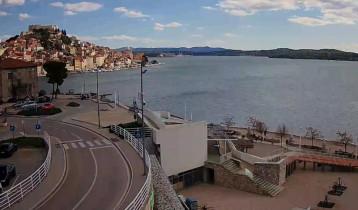 Preview webcam image Šibenik - beach Banj