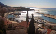 Preview webcam image Baška Voda  - Makarska Riviera