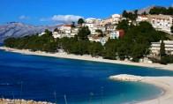 Preview webcam image Baška Voda - beach Podluka