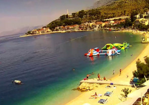 Preview webcam image Podgora - beach