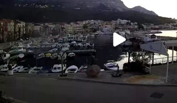 Preview webcam image Marina in Podgora