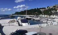 Preview webcam image Brela - port