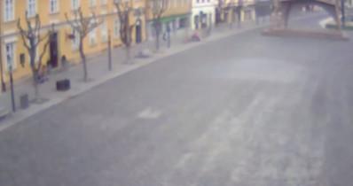 Preview webcam image Trenčín - Mirove Square